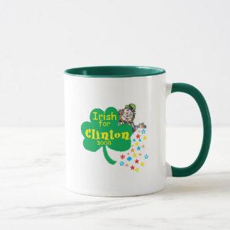 Hillary Clinton-Iren-St Patrick Tag Tasse