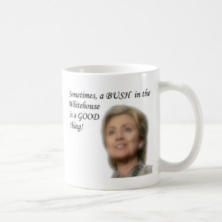 Hillary Clinton Kaffeetasse