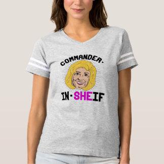 Hillary Clinton: Kommandant-in-Sheif T-shirt