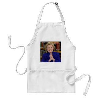 Hillary Clinton nimmt es ein Dorf-Geschenk Schürze
