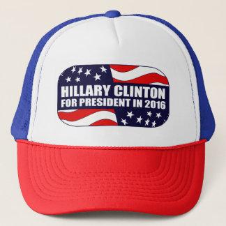 Hillary Clinton-Präsident 2016 Truckerkappe