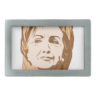 Hillary Clinton Rechteckige Gürtelschnallen