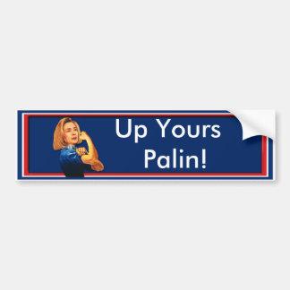 Hillary Clinton, Rosie der Nieteneinschläger, hera Autoaufkleber