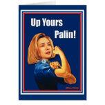 Hillary Clinton, Rosie der Nieteneinschläger, Grußkarte