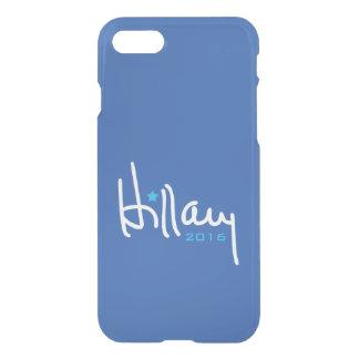 Hillary Clinton-Unterzeichnung iPhone 8/7 Hülle