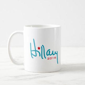 Hillary Clinton-Unterzeichnung Kaffeetasse