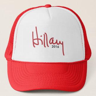Hillary Clinton-Unterzeichnung - Kampagnen-Hut Truckerkappe