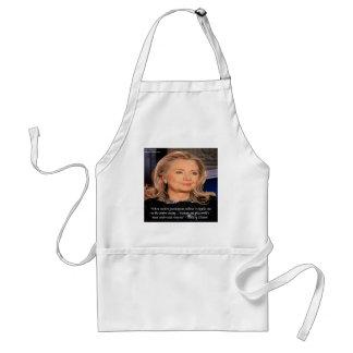 Hillary-Frauen-Ressourcen-Zitat Schürze