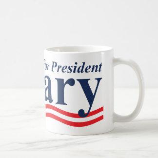Hillary für Präsidenten Kaffeetasse