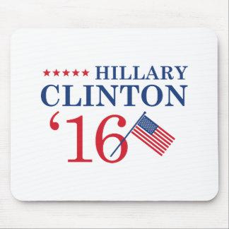 Hillary für Präsidenten Mauspad