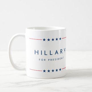 Hillary für Präsidenten Tasse