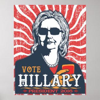 Hillary-Schatten Poster