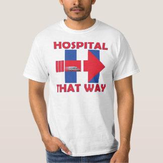 Hillary zum Krankenhaus-T - Shirt