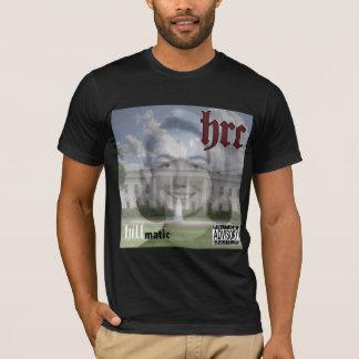 Hillmatic schwarzes T-Stück T-Shirt