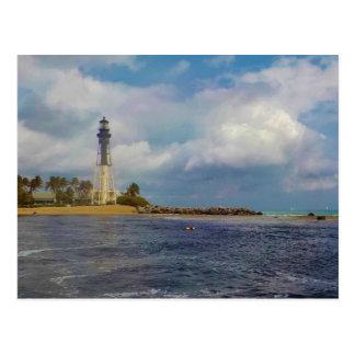 Hillsboro Einlass-Licht-Gewohnheit Postkarte