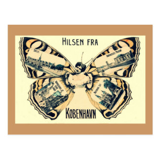 Hilsen Fra Kopenhagen - Grüße von Kopenhagen Postkarte