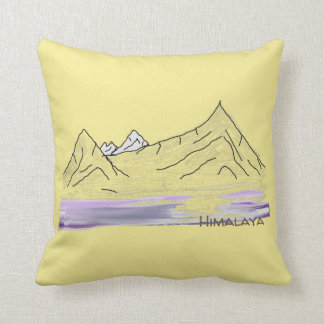 Himalaja-/Himalaja-Morgen-Landschaftskissen Kissen
