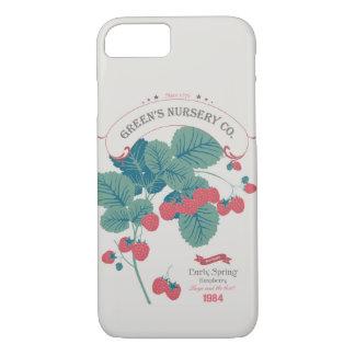Himbeere der Veg Liebe-Sammlungs-No.4 iPhone 8/7 Hülle