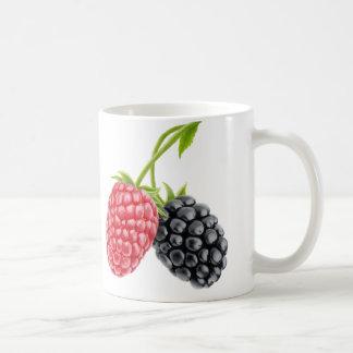 Himbeere und BlackBerry Kaffeetasse