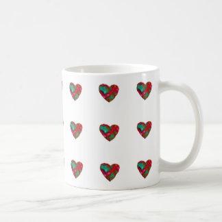 Himbeerherz-Tasse Kaffeetasse