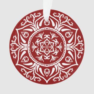 HimbeerMandala Ornament