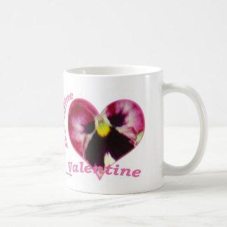 HimbeerPansy im Herzen, ist- BergwerkValentine, Kaffeetasse