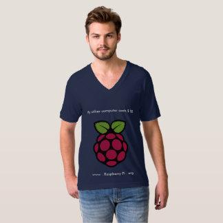Himbeerpu V-Hals T-Shirt