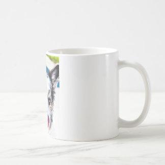 Himbeerwolljacken-Art Kaffeetasse