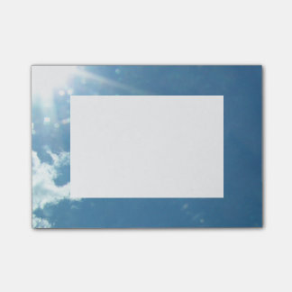 Himmel 5992 - Sun und Wolken Post-it Klebezettel