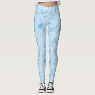 Himmel-Blau-Pastell Leggings