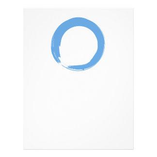 Himmel-Blau-Zen-Symbol Flyer
