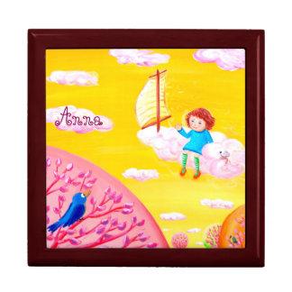 Himmel, der | Personalizable Andenken-Kasten Erinnerungskiste