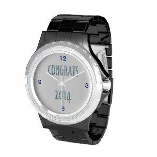 Himmel des Glückwunsch-2014-Blue Armbanduhr