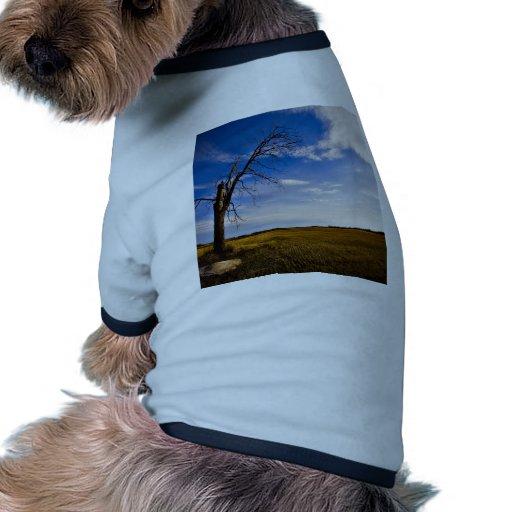 Himmel eingefroren in der Zeit Hundetshirts
