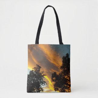 Himmel-Flamme Tasche