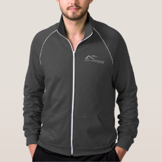 Himmel-Gebirgskaffee-Logo-Fleece-Jacke Jacke
