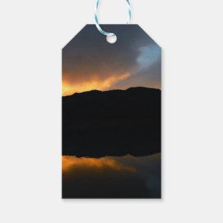 Himmel im Spiegel Geschenkanhänger