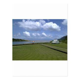 Himmel in Taiwan (Meer, Mündung) Postkarte