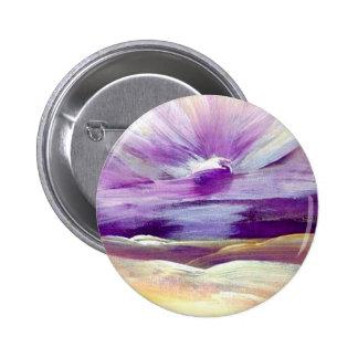 Himmel klingt den Sonnenaufgang, der Inspirational Runder Button 5,1 Cm