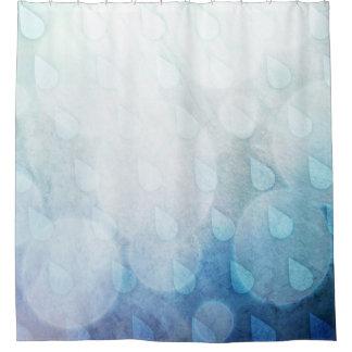 Himmel lässt Duschvorhang fallen