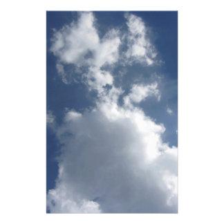 Himmel mit Wolken Briefpapier
