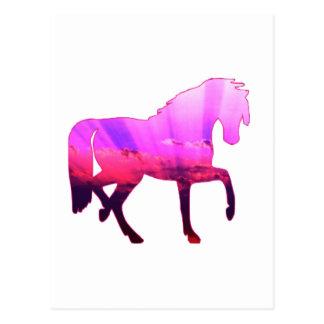 Himmel-Pferd Postkarte