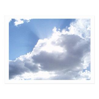 Himmel Postkarte