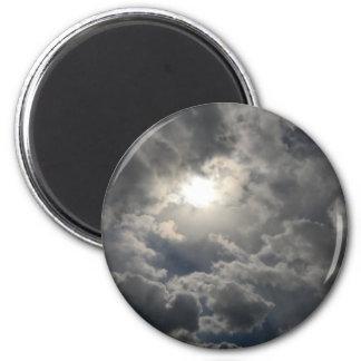 Himmel Runder Magnet 5,7 Cm