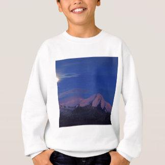 Himmel-Satin-Dämmerung Alaska Sweatshirt