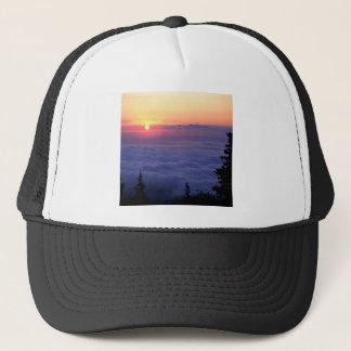Himmel-Sonnenaufgang-Spiesse Höchstcolorado Truckerkappe