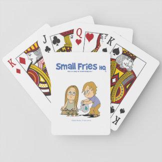 Himmel-Spielkarten kleine Fische Hauptquartiers Kartendeck