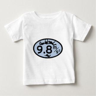 Himmel-Tauchen-Schwerkraft Baby T-shirt