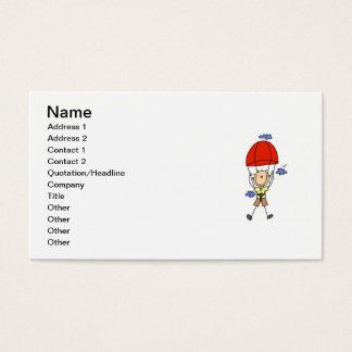Himmel-TauchStrichmännchen Visitenkarte