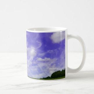 Himmel und Feld-Foto Kaffeetasse